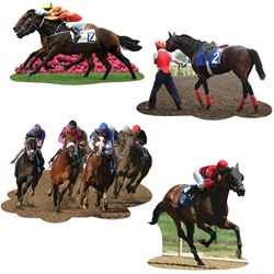 Derby Day Cutouts (4/pkg)