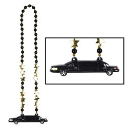 Beads with Limo Medallion (1/pkg)