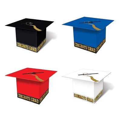 graduation hat card box instructions