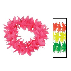Assorted Silk N Petals Neon Lotus Headbands (1/pkg)