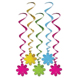 Flower Whirls (5/pkg)