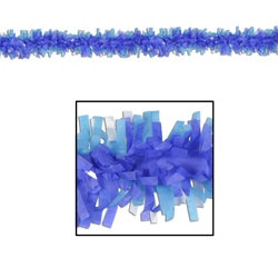 Medium Blue and Turquoise Creative Craft Fringe