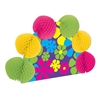 Retro Flowers Hippie Centerpiece