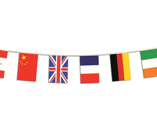 international flag banner 12 countries partycheap
