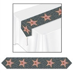 Hollywood Star Table Runner
