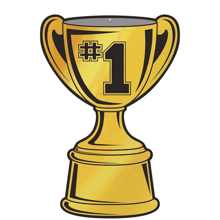 Foil Trophy Cup Cutout - PartyCheap