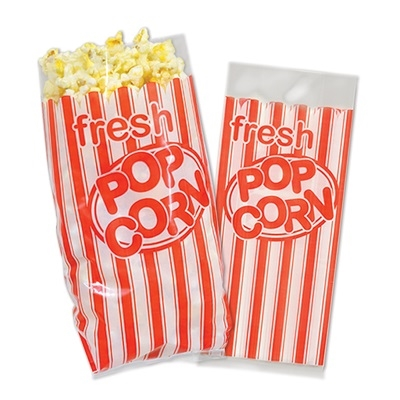 Popcorn Bags 25pkg PartyCheap