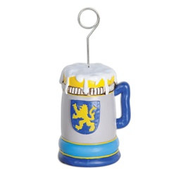 Beer Stein Photo/Balloon Holder
