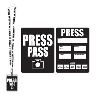 Press Party Pass