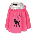 Poodle Skirt Drink Accessory