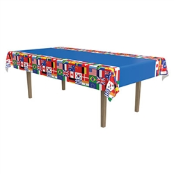 International Flag Tablecover