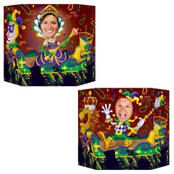 Mardi Gras Photo Prop
