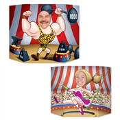 Circus Couple Photo Prop