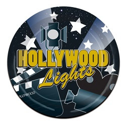 Hollywood Lights Lunch Plates (8/pkg)
