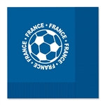 France Soccer Luncheon Napkins (16/Pkg)