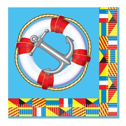 Nautical Luncheon Napkins (16/pkg)