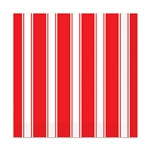 Red & White Stripes Luncheon Napkins
