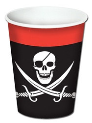 Pirate Beverage Hot/Cold Cups