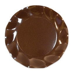 Brown Small Plates (10/pkg)