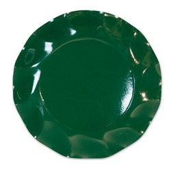 Dark Green Medium Plates (10/pkg)