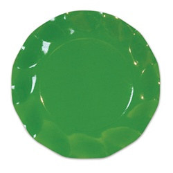Meadow Green Large Plates (10/pkg)