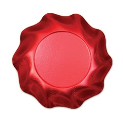 Satin Red Small Bowls (10/pkg)