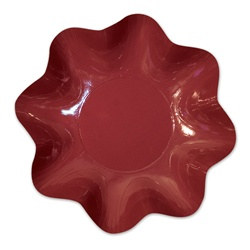 Burgundy Large Bowl (1/pkg)