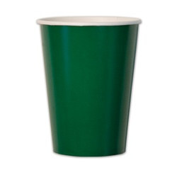 Dark Green Cups (10/pkg)