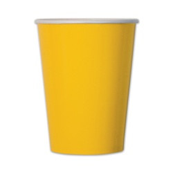 Yellow Cups (10/pkg)