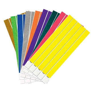 Colored Tyvek Wristbands