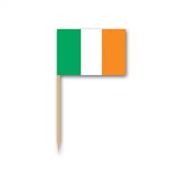 Irish Flag Picks (50/pkg)