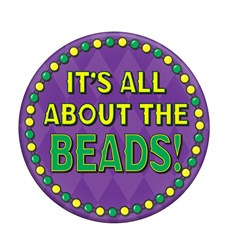 It's All About The Beads Button