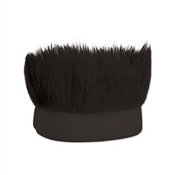 Black Hairy Headband