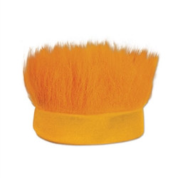 Orange Hairy Headband