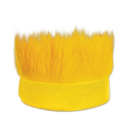 Yellow Hairy Headband