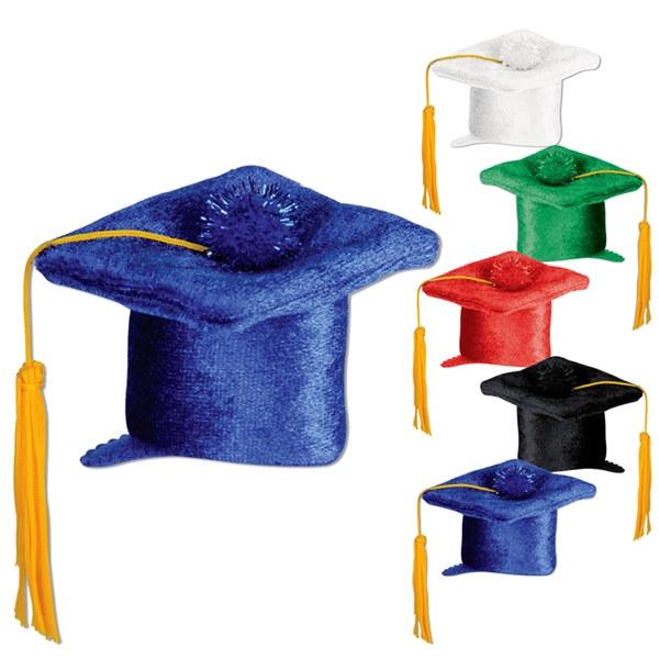 how to make mini fondant graduation caps