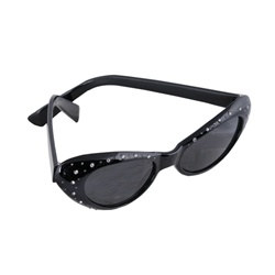 Black Jeweled Fanci-Frames