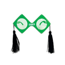 Green Graduation Fanci-Frames