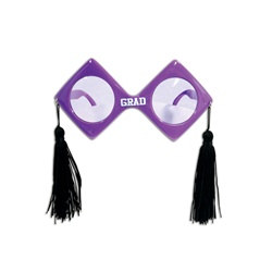 Purple Graduation Fanci-Frames