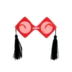 Red Graduation Fanci-Frames