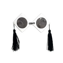 White Graduation Fanci-Frames