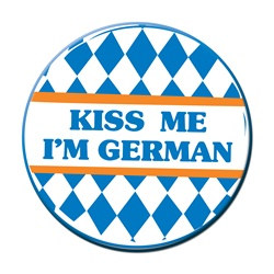 Kiss me I'm German