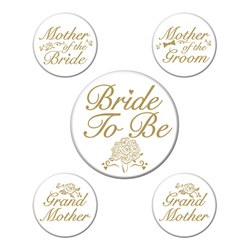 Bridal Party Buttons