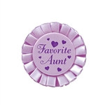 Favorite Aunt Satin Button