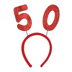 """50"" Glittered Boppers"