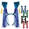 Graduation Cap Boppers with Fringe (Select Color)
