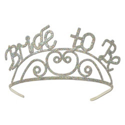 Glittered Bride To Be Tiara