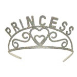 Glittered Princess Tiara