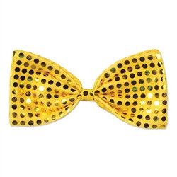 Gold Glitz 'N Gleam Bow Tie
