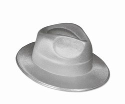Silver Theatrical Fedora